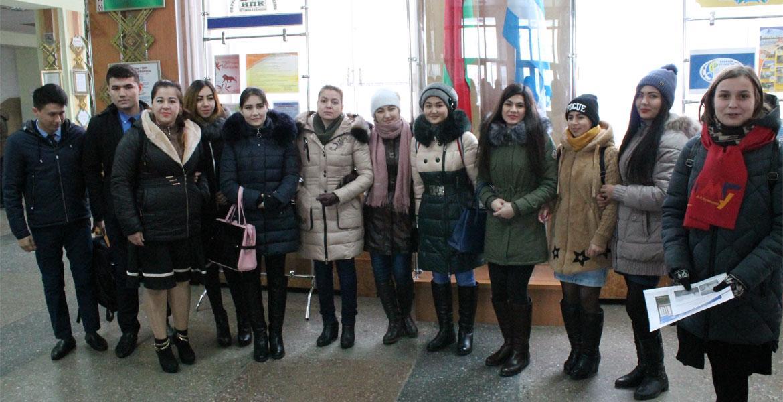 Квест-викторина «Знакомство студентов-туркменов с Могилевом»