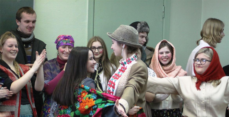 Беларускія Каляды на гэтым тыдні адсвяткавалі ў МДУ імя А.А.Куляшова