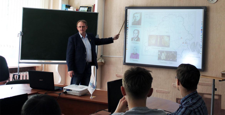 Встреча с учащимися СШ №34 г.Могилева